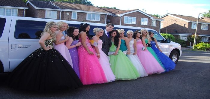 prom limo hire north west